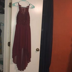 Red homecoming dress!!